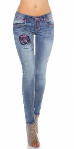 PuSH Up Jeans - blue