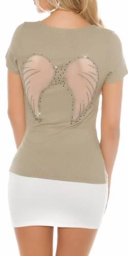 Ripp T-Shirt - khaki