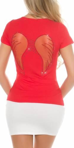 Ripp T-Shirt - red