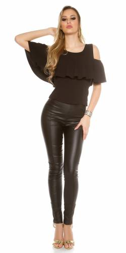 Volant Top - black