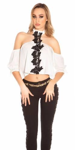 Carmen Shirt - white