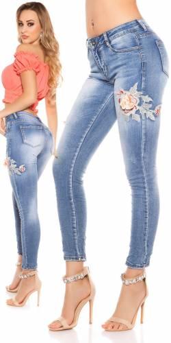 Skinny Jeans - blue