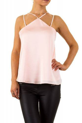 Neck Top - rose