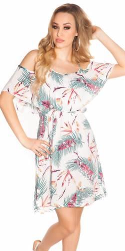 Sommer Kleid - white