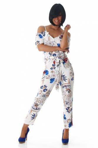 Print Overall - white