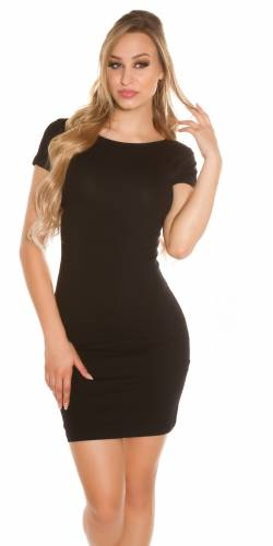 Basic Minikleid - black
