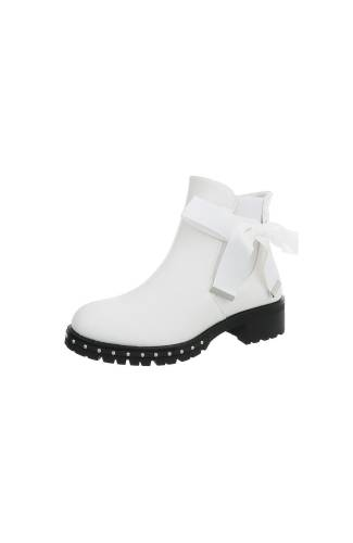 Chelsea Boots  - white