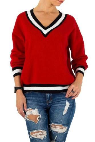 Damen Pullover - red