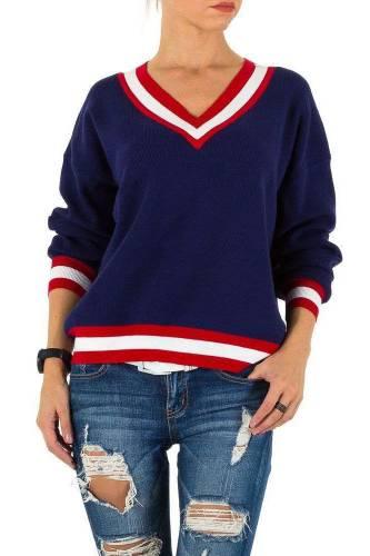Damen Pullover - dark blue