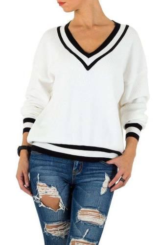 Damen Pullover - white