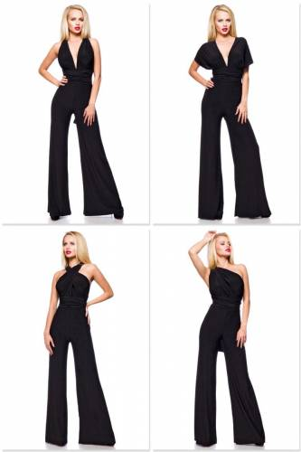 Multistyle Overall - black