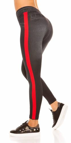 Thermo Leggings - red