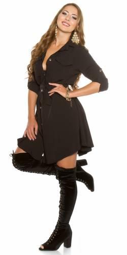Minikleid - black