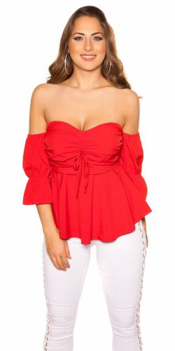 Bandeau Top - red