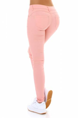 Push-Up Jeans - rose