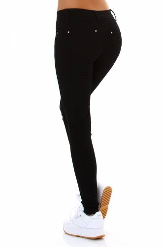 Push-Up Jeans - black