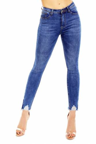 Skinny Jeans Senia - blau