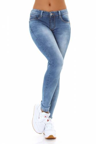 Push-Up Jeans - blue