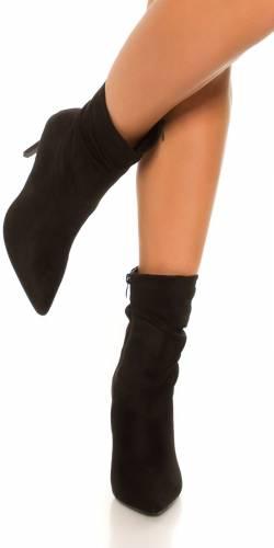 Ankleboots - black