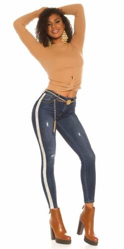 PushUp Jeans - bleu