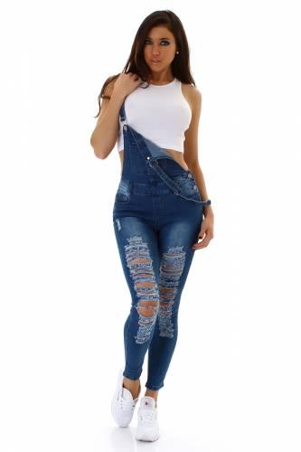 Salopette en jean - blue