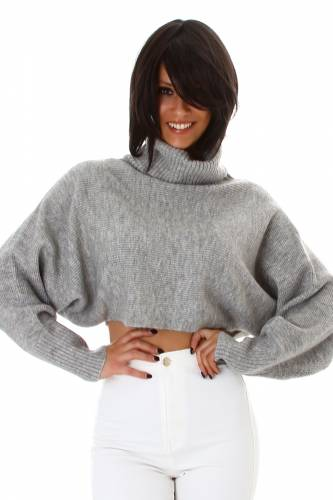 Strick-Pullover - grey