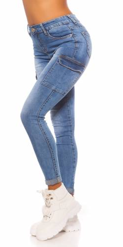 Cargo Jeans - blue