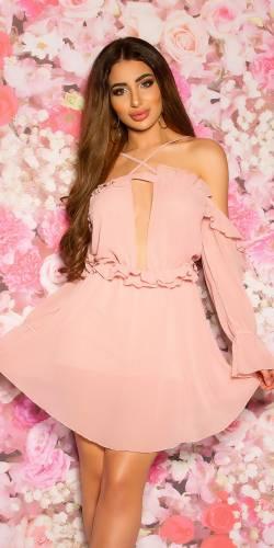 Chiffon Jumpsuit  - rosa