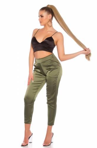 Pantalon en tissu - khaki