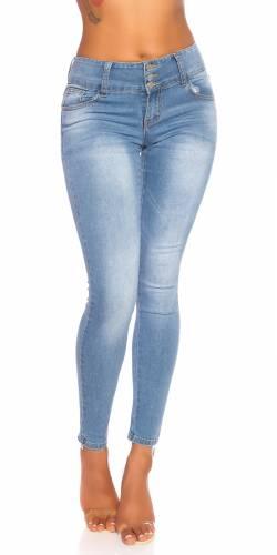 High Waist Jeans - pale blue