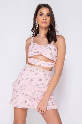 Zweiteiler Set - rosa