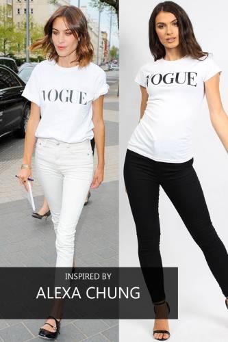 Shirt VOGUE - white