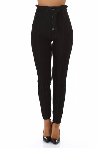 High Waist Hose - black