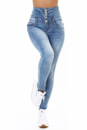 Corsage Jeans - blue