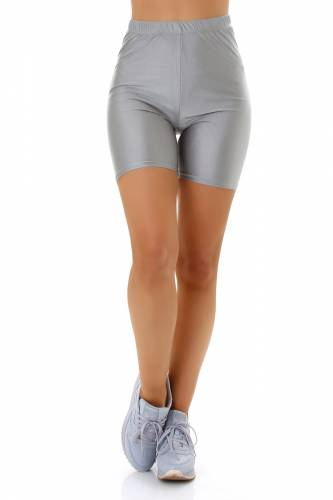 Biker-Shorts - grey
