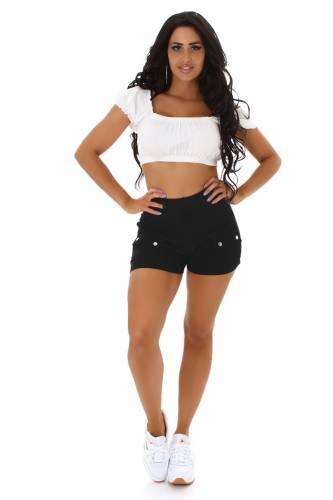 High Waist Shorts - black