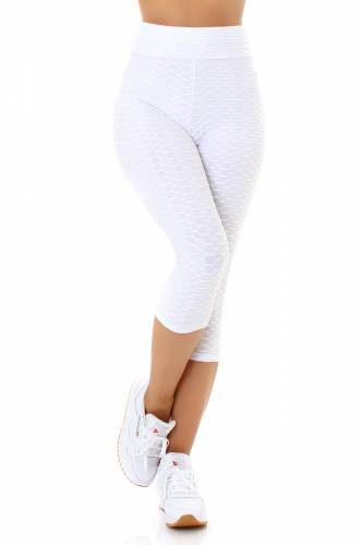 Push-Up Leggings - weiss