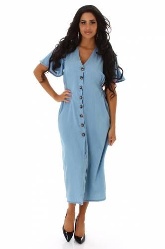 Jeans-Kleid - blau
