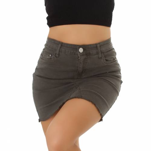 Jeans Rock - khaki