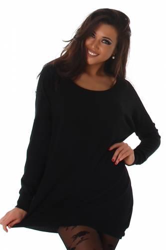 Pullover Voyelles - black