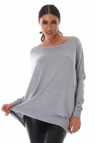 Pullover Voyelles - grey