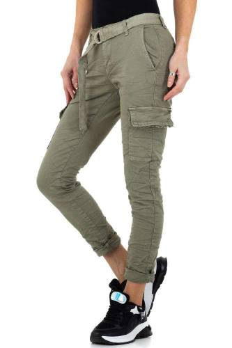 Cargo Jeans - khaki