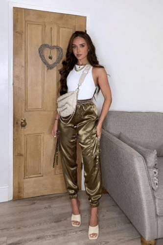 Pantalons cargo  - khaki