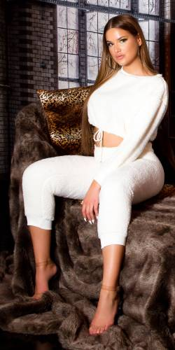 Loungewear Set - white