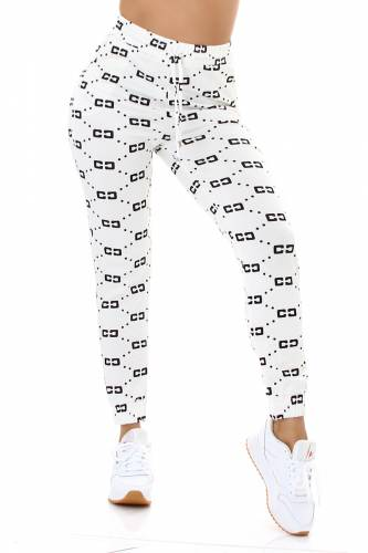 Sweatpant - white