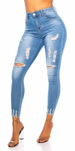 High Waist Jeans Samera - blau