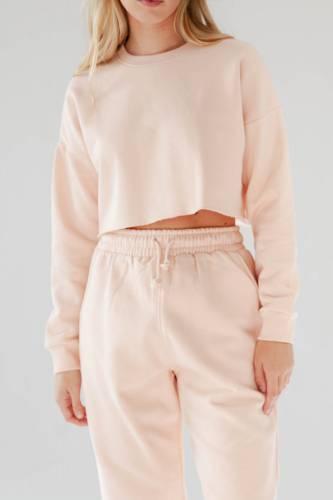 Crop Sweatshirt - rosa