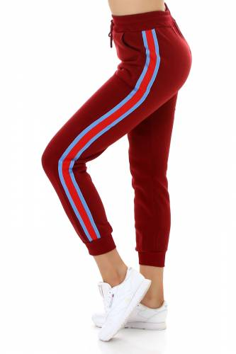 Jogging-Hose - bordeux