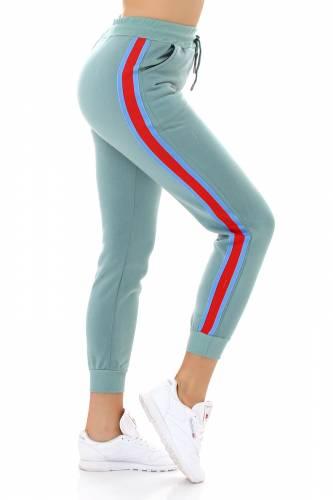 Jogging-Hose - turquoise
