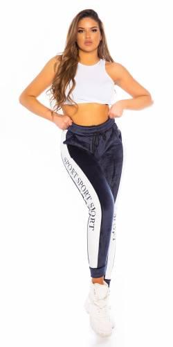 Pantalon de jogging - bleu foncé